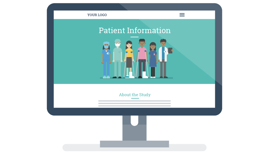 Digitrial Patient Information solution image